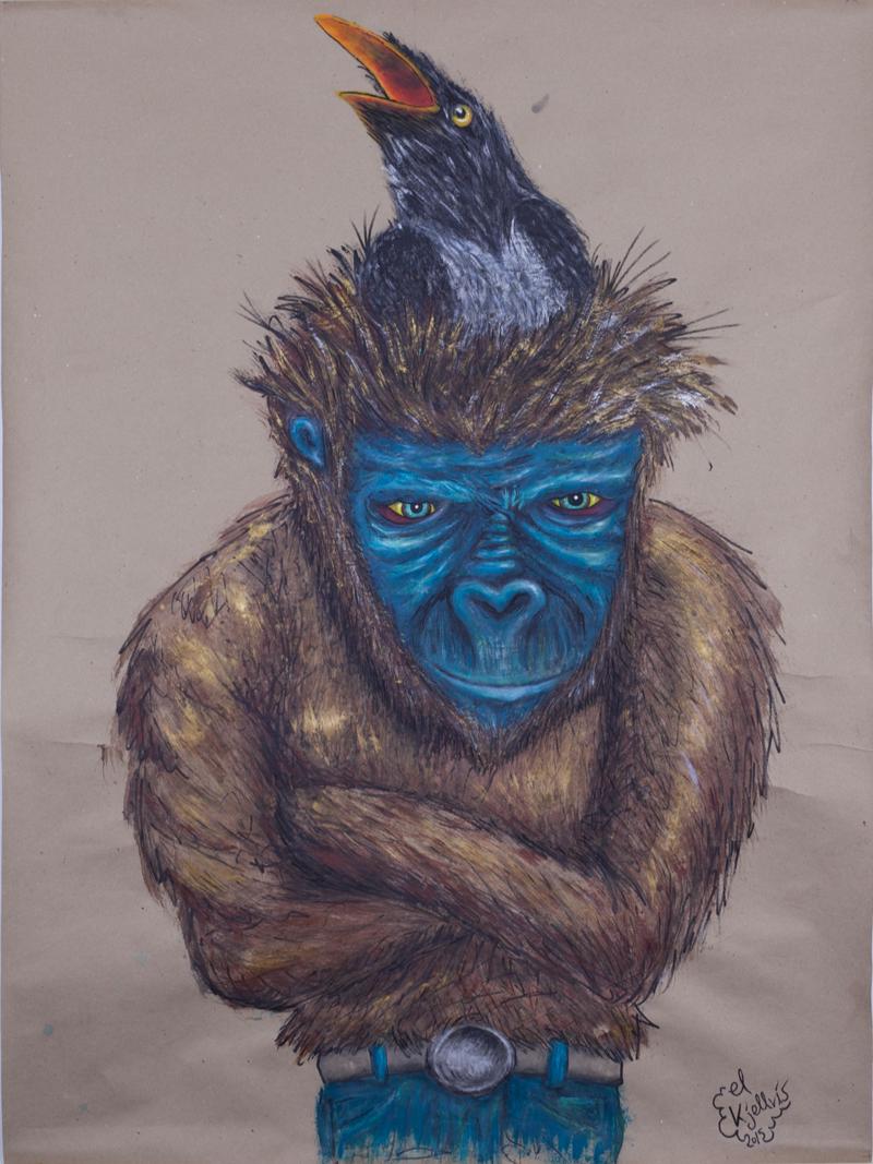 Evolutionens bortre grenar av El Kjellvis – elektronisk utställning